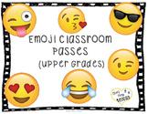 Emoji Classroom Reward Passes (Upper Grades)