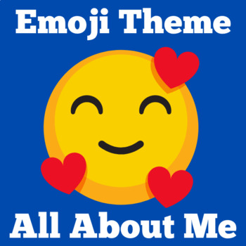 Emoji Classroom Theme | All About Me Poster