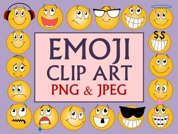 Emoji Clip Art Smileys