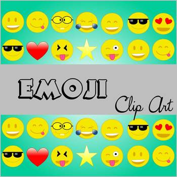 Emoji Clip Art *Commercial and/or Personal Use*