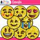 Emoji Clip Art | Emoticons and Smiley Faces for Brag Tags & Classroom Decor
