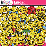 Emoji Clip Art | Emoticons and Smiley Faces for Task Cards & Classroom Decor