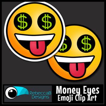 Emoji Clip Art Money Eyes