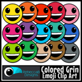 Grin Emoji Clip Art