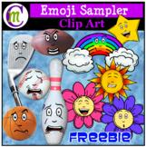 Emoji Clip Art Sampler FREEBIE