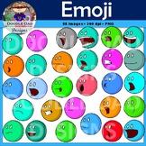 Emoji Clip Art (Unique emoji faces that do not violate Apple copyright)