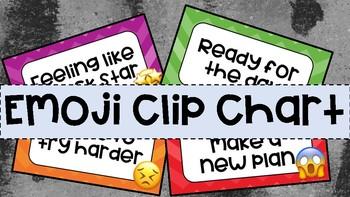 PREVIEW- Emoji Clip Chart (no Emoji's in preview)
