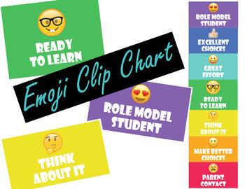 Emoji Clip Chart