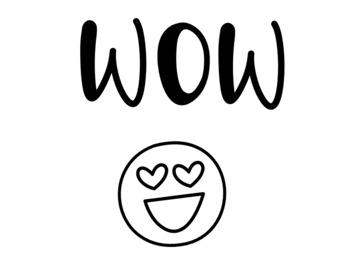 Emoji Clip Chart BILINGUAL