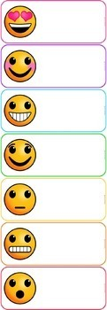 Emoji Clip Chart Behavior System {Editable Version Included}