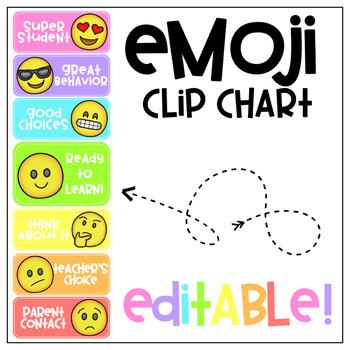 Emoji Clip Chart- Editable