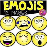 Emoji Clipart {Cutie Clips Clipart}