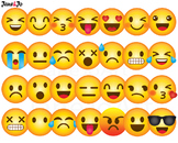 Emoji Clipart,Emoji Clip art,Emoticons Clipart,Emoji Face