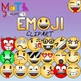 Emoji Clipart (Emoticons Smileys Faces) Bundle
