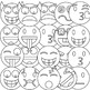 Emoji Clipart (Emoticons Smileys Faces) vol 1