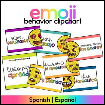 Emoji Clipchart SPANISH
