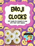 Telling Time Emoji Clocks - A DIY Hands-On Clock