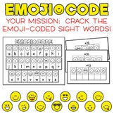 Emoji Code Dolch Sight Words: Third Grade Dolch Words - Crack the Emoji Code!