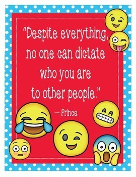 """Emoji Cognitive Behavioral Therapy CBT Posters -8.5""""x11"""", 18""""x24""""-Ready to Print"""