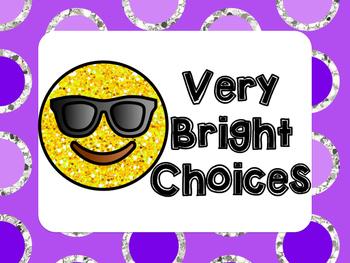 Emoji Color Clip Chart for Behavior