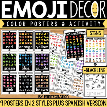 Emoji Color Posters
