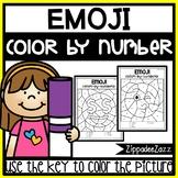 Emoji Color by Numbers