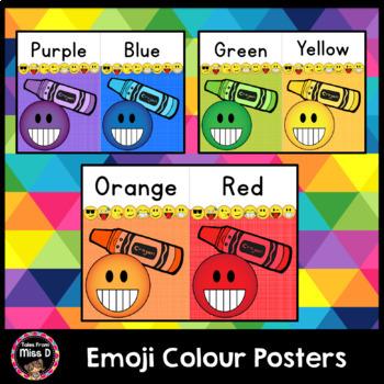 Emoji Colour Posters