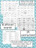 Emoji Contraction Bingo