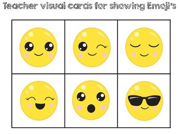 Emoji Cooperative Grouping Cards