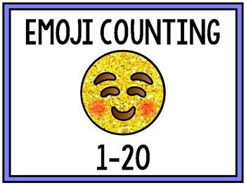Emoji Count the Room 1-20