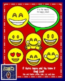 Letter H Craft for Kindergarten: If You're Happy and You Know It Emoji