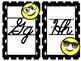 Emoji Cursive Alphabet