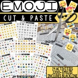 Emoji Cut and Paste Activities