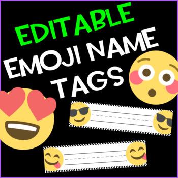 Emoji Desk Name Plates