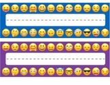 Emoji Desk Name Tags