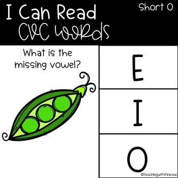 Emoji Digital Word Work Activities: CVC Short O