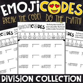 Division Practice | Break the Emoji Code