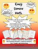 Emoji Domino Math Grades K-2
