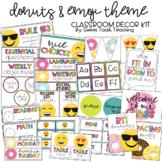 Emoji & Donut Theme Classroom Decor Kit