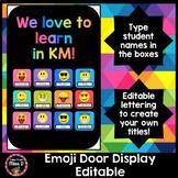 Emoji Door Display Editable