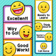 Emoji Theme Classroom Decor Editable Behavior Clip Chart