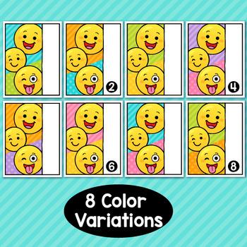 Emoji Theme Classroom Decor Editable Binder Covers {A}