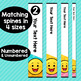 Emoji Classroom Decor Editable Binder Covers {A}