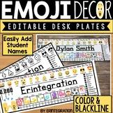 Emoji Name Tags Editable With Reference