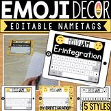 Emoji Editable Name Tags