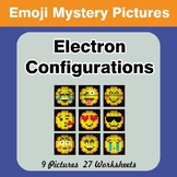 Emoji: Electron Configurations - Mystery Pictures