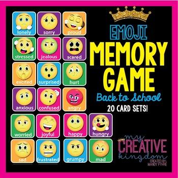 Emoji Emoticon Memory Game