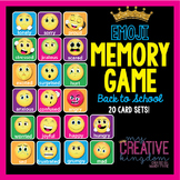 Emoji Emoticon Memory Game
