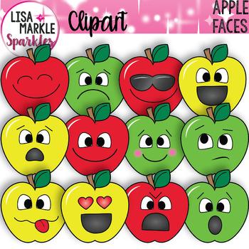 Emoji Emotion Faces Apple Clipart