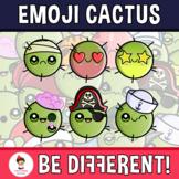 Emoji Emotion Faces Cactus Clipart